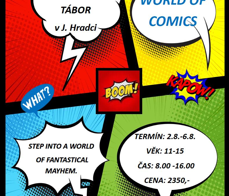 Jindřichův Hradec – World of comics